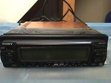 New Old School Sony MDX-400 4 Minidisk Changer,Cd Player,Quattro,RARE,Display