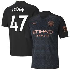 Manchester City Football Shirt Men's PUMA Away Shirt - Foden 47 - New