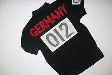 Ralph Lauren Men Black Shirt Germany Flag Big Pony Medium Custom-Fit RL Olympic