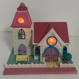 Polly Pocket Wedding Chapel Rare White Variation 1990s Vintage Bluebird Toys