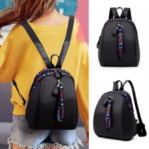 Women Backpack Street School Anti-Theft Waterproof Oxford Cloth Cute Mini Bags