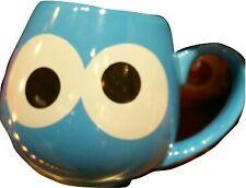 USJ Exclusive Sesame Street Cookie Monster Face Mug Cup Official Tableware Japan