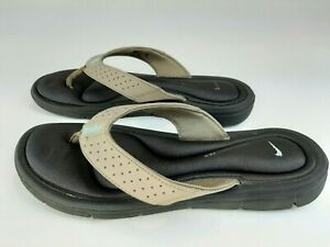 Nike Women's Ultra Comfort Thong Sandal FlipFlop - Size 8 -Brown - Free Shipping