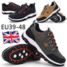 Mens Athletic Sports Walking Running Trainers Lace Up Mesh Casual Shoes Sneakers