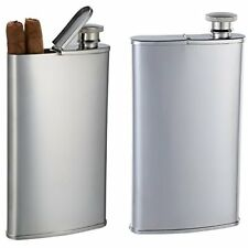 Personalized Stainless Steel Cigar Flask