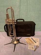 Pre-Owned Yamaha YTR-300ADS Intermediate Silver Plated Trumpet w/ BackPack Case