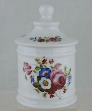 Vintage Limoges Lidded Bowl Or Trinket Box White Mix Flowers Bouquet