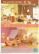 PUBLICITE ADVERTISING 1016  2007   Meubles chambre enfant Vibel