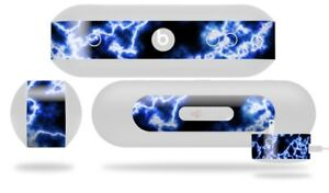 Skin for Beats Pill Plus Electrify Blue Decal Wrap