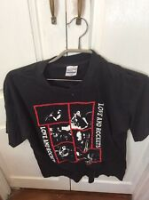 Love And Rockets So Alive 89 Vintage T Shirt XL Rare Used (Sized More Like L)