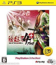 Used PS3 Samurai Dou 4 Plus  SONY PLAYSTATION 3 JAPAN JAPANESE IMPORT