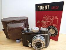 Berning Robot II Vintage Camera - Germany - w Case + Booklet