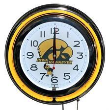 Iowa Hawkeyes Neon Clock New Wall Clock Lifestyle Lighting