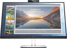 "HP E24d G4 23.8"" Full HD LED LCD Monitor 1080p w/ Webcam, Microphone, Docking"