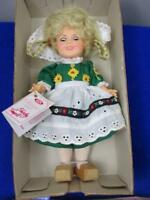 "NIB 1982 Ideal Shirley Temple 8"" Doll with Blinking Eyes, With Box & Tag  A2"