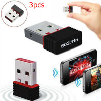 Mini USB 2.0 802.11n 150Mbps Wifi Network Adapter For Windows Linux PC Protable
