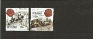 Rumänien , 2020 - Europa - historische Postrouten, noch nicht gelistet**