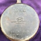 Vintage 1970s WAGNER WARE GHC GENERAL HOUSEWARES  6 1/2 Inch CAST IRON SKILLET