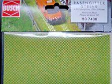 (228,21€/m²) BUSCH 7430 Rasengittersteine, 3-D-Dekorplatte, 200 x 140 mm, Neu