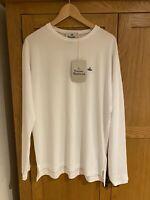 Vivienne Westwood Mens Long Sleeve T-Shirt Size XL White
