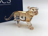 Swarovski Figurine 1051686 Scs Tigre Jeune Animal 9 Cm. avec Emballage Origine &