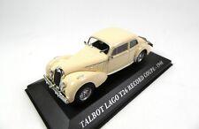 Talbot Lago T26 Record Coupé (1948) 1:43 Altaya Ixo Model Car Diecast VA15