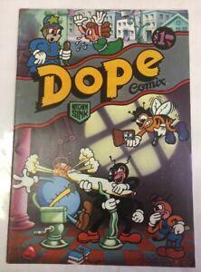 Dope Comix No 1 1st Issue 1978 Underground  Kitchen Sink Ent.