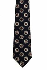 Men's New Neck Tie, Classic, Black with Gray Red design by Scott Foster