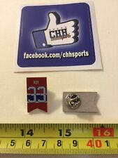 Montreal Canadiens Retired Player Banner Pin - Épinglette Patrick Roy #33