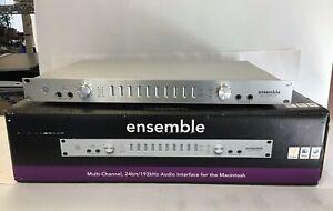 Ensemble by Apogee 24-Bit/192kHz FireWire Audio Interface 18 I/O For Mac RARE