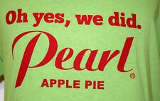 Pearl Vodka Apple Pie Large T-Shirt L Green Flavored Alcohol