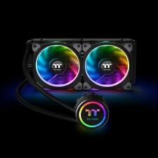 Thermaltake Floe Riing 240 RGB All-In-One 120mm x2 Cooler CL-W157-PL12SW-A F46