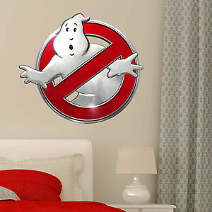 Ghostbusters Logo Decal Kids Boy Girls Bedroom Vinyl Wall Sticker Art Gift New