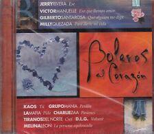 Jerry Rivera Victor Manuelle Kaos Grupo Mania Boleros Al Corazon  CD New Nuevo