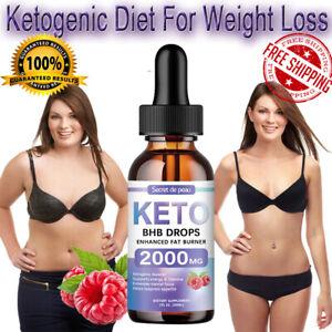 Secret Slimming HBH Keto Drops Burning Body Fat Energy Edible Weight Loss Serum
