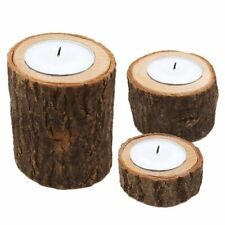 Wooden Candle Stand Holder Table Centerpiece Decoration Candlelight Storage Rack