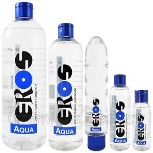 Eros Aqua Lubricante Base Al Agua Botella Íntimo Personal Glide Alemania