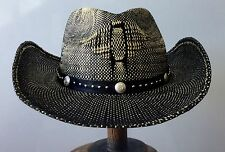 cowboy taxes western hat new one Small to Medium 56 cm with flex fit sweatband