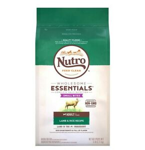 Nutro Wholesome Essentials Natural Lamb Rice Recipe Adult Dry Dog Food 5 pounds