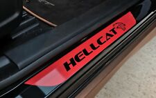Dodge Charger SRT Hellcat Vinyl Door Sill Decal (No Background)