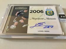 2018 Panini Eternal Magnificent Moments World Cup Leo Lionel Messi Auto #1/1