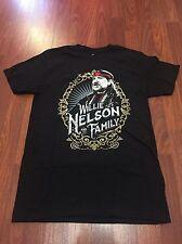 Brand New Willie Nelson & Family Live in Concert 2016 Black T-shirt Medium Shirt