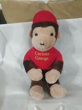 "Knickerbocker Curious George Plush  - Monkey - 19"" - Vintage 1970s"