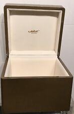 "Edidi New York Box To Store Jewelry Purses/ Bags 7"" x 7.5"" x 5.75"" EUC"