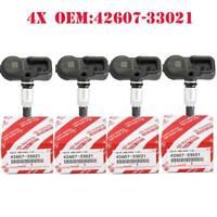 4X Genuine TIRE PRESSURE SENSOR TPMS For Scion Toyota Lexus 42607-33021 PMV-107J