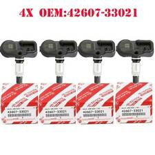 4X Genuine Tire Pressure Sensor Tpms For Scion Toyota Lexus 42607-33021 Pmv-107J