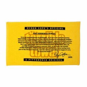 Pittsburgh Steelers Cope quote Terrible towel ( NEW JUST RELEASED )