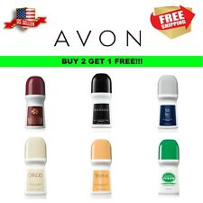 BUY 2 GET 1  FREE AVON DEODORANT ROLL ON ANTI ANTIPERSPIRANT 24 HOUR 2.6fl.oz