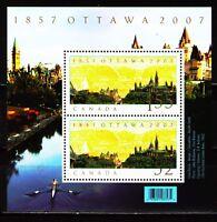 Canada 2007 Sc2213  MiBlk94 1 SS  mnh  Ottawa as National Capital