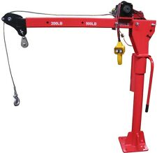 Electric Hoist Winch Crane 360 Swivel 450Kg Workshop Garage Part No CR450EL